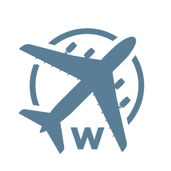 Wide Body Aircraft Icon